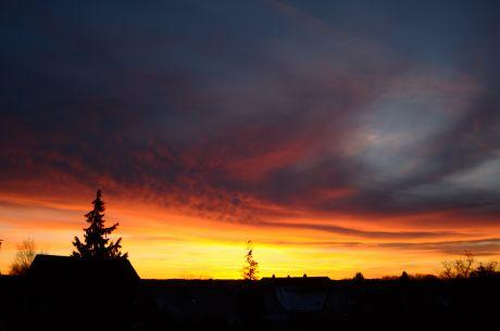 Sonnenaufgang, 8:00 Uhr