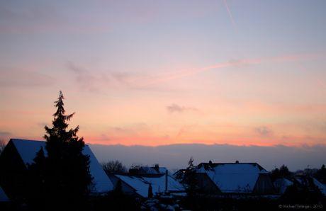 Sonnenaufgang, 26.01.2013