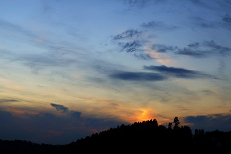 Sonnenuntergang, 28.09.2014