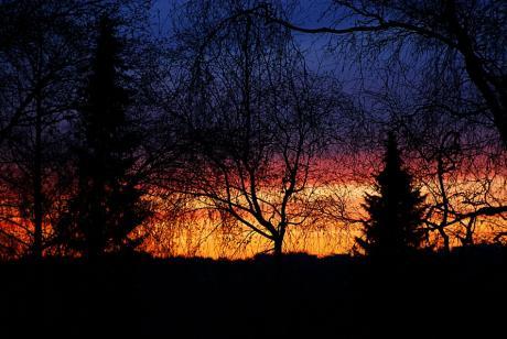 Sonnenuntergang: 30. November 2009