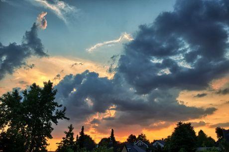 Sonnenuntergang, 5.8.2014
