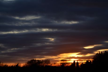 Sonnenuntergang: am 26.12.2015