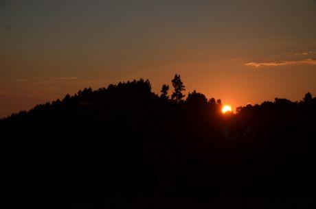 Sonnenuntergang über Kempen