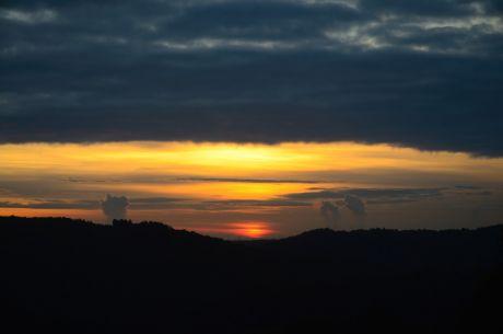 17:10 Uhr: Sonnenuntergang