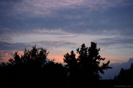 Sonnenuntergang am 5. Oktober 2013