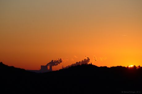 Sonnenuntergang, 18.10.2014