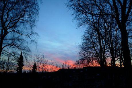 Sonnenuntergang (5.3.2013)