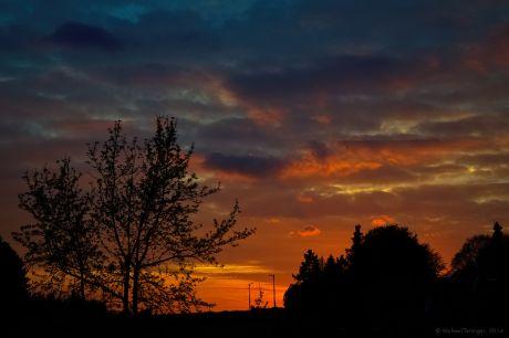 Sonnenuntergang 9.4.2014
