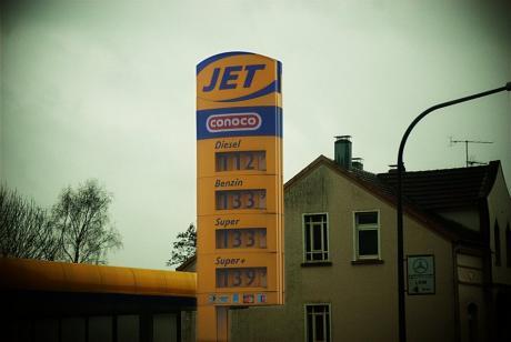Spritpreise: Wuppertal am 5. November 2009