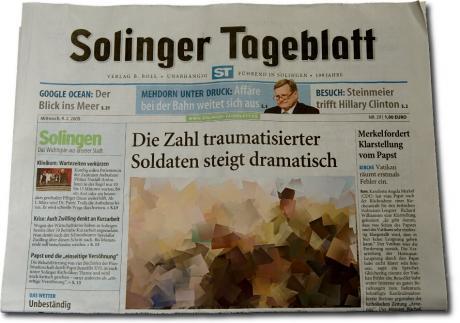 Führend in Solingen - 199 Jahre: Ausgabe vom 4.2.2009