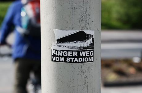 Finger weg vom Stadion