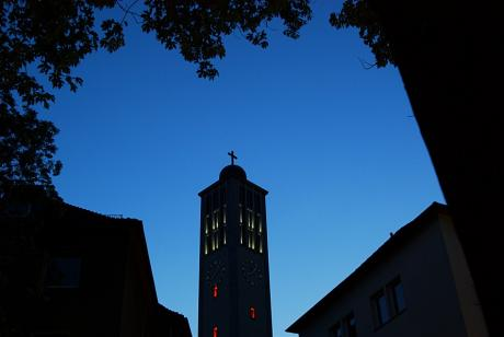 Ev. Stadtkirche: in der Solinger Innenstadt