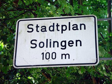 Stadtplan Solingen