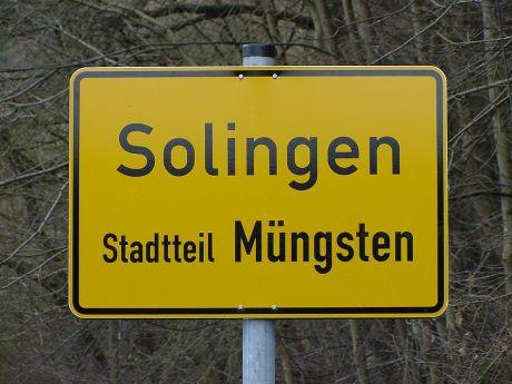 Solingen - Stadtteil Müngsten