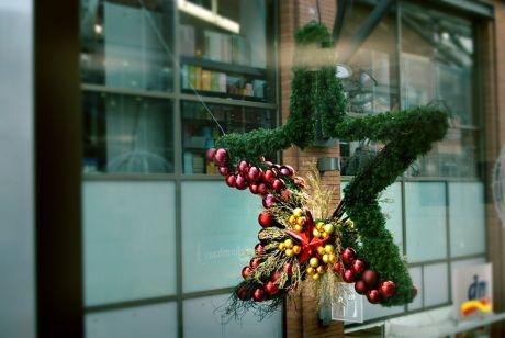 Weihnachtsdekoration: in der Clemens-Galerie