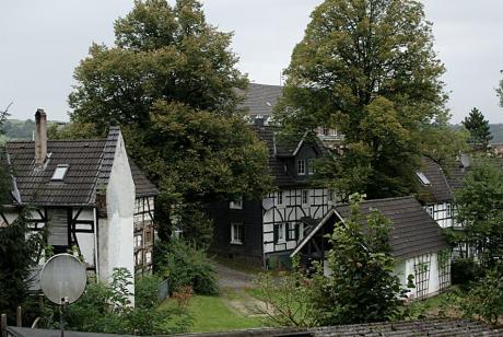 Blick in den Hinterhof von Stöcken