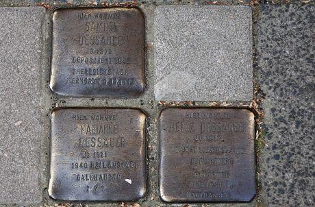 Stolpersteine: in der Solinger Nordstadt