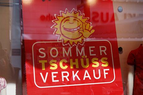 Sommer Tschüss Verkauf