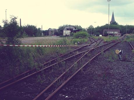 Südpark im Juni 2004: Bahnhofswüstung