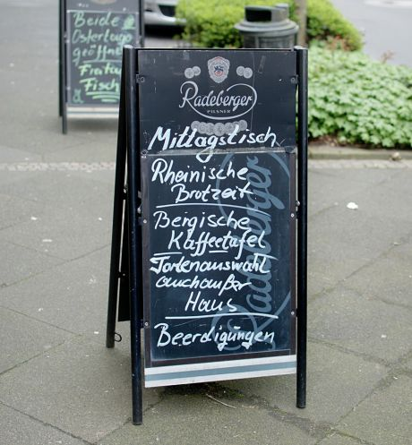 Rheinische Brotzeit - Bergische Kaffeetafel