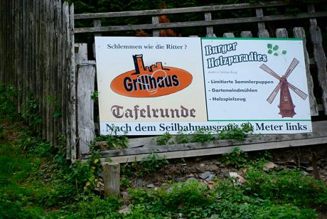 Schlemmen wie die Ritter ?: Grillhaus Tafelrunde