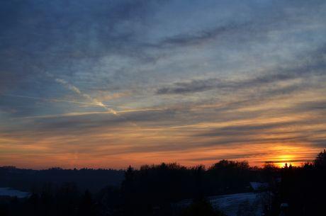 Sonnenuntergang, Tag 1: 2015