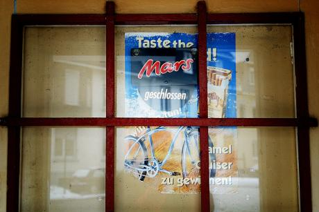 Taste the Mars: geschlossen