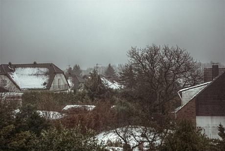 Die Tage noch in Schnee eingehüllt