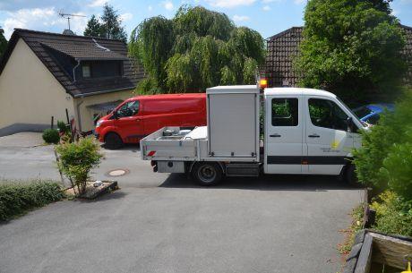 Technische Betriebe der Stadt Solingen im Einsatz
