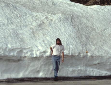 Tetti im Schnee: 1992 irgendwo in Südtirol