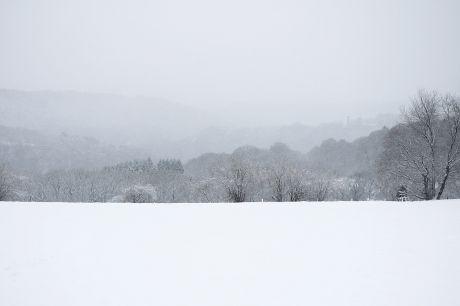 Tetti-Land im Schnee