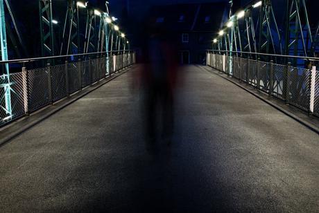 Geister auf der Brücke