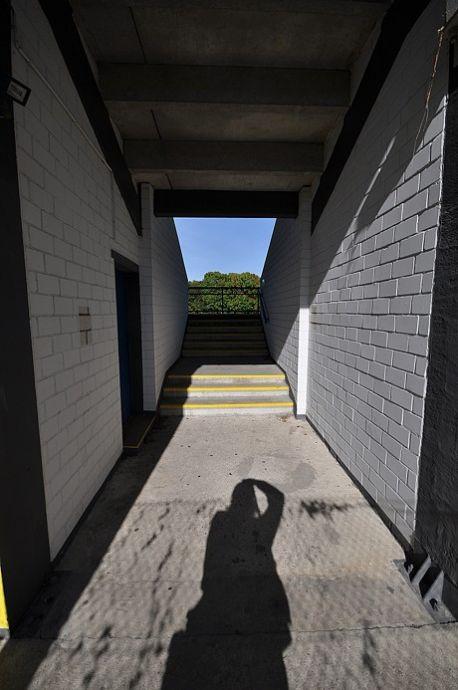 Zugang zur Haupttribüne