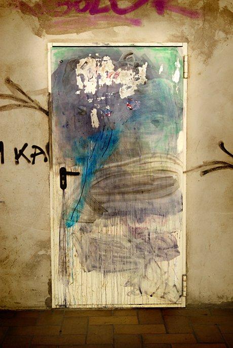 Eine Tür in der Unterwelt