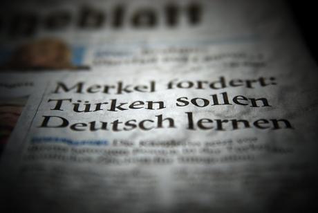Merkel fodert: Türken sollen Deutsch lernen