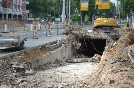 Tunnel verschwinde!