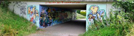 Tunnelportal (südöstlich) Goudastraße