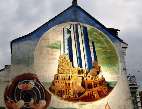 "Detail: ""Turm zu Babel"""