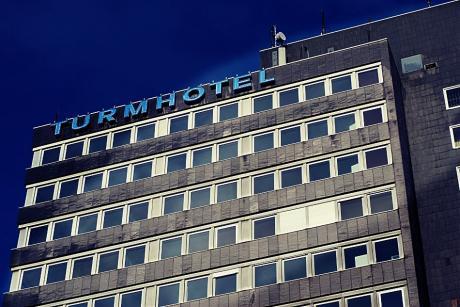 Turmhotel: Das einstige höchstgelegene Hotel Solingens öffnete im Sommer 1970 seine Pforte
