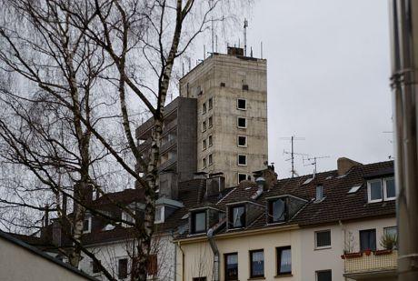 luftiges Turmhotel