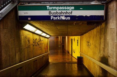 """Turmpassage · Busbahnhof · Parkhaus: alles nach dem Motto """"Es war einmal"""""""