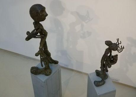 Tz! Hooolla!: Bronzeplastiken von Kerstin von Klein, Galerie SK in den Güterhallen