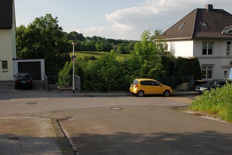 Untere Werner Straße 81: In den Abendstunden des  28. Mai 2009
