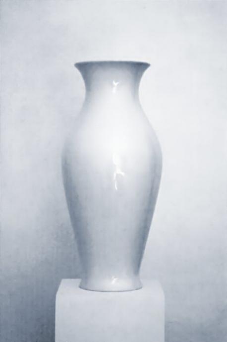 Vase mit Unterbau: (Quelle: solingen aktuell, juni 2009)