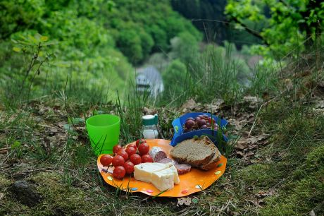 Picknick: am Abgrund