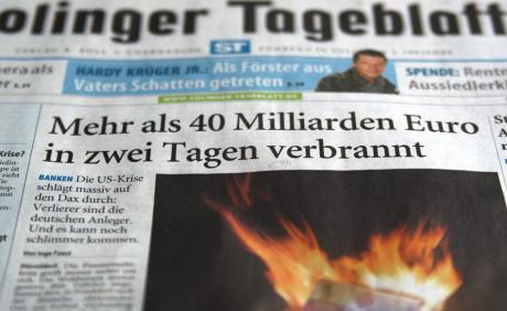 Aufmacher, Solinger Tageblatt, 17.09.2008