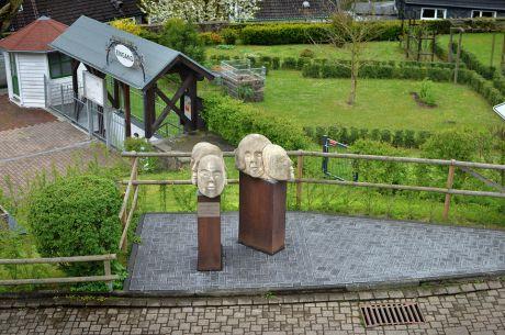 2004 gestiftet vom Verschönerungsverein Burg an der Wupper
