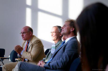 VIPs: Dr. Thomas A. Lange, Stefan Ettlinger, Norbert Feith