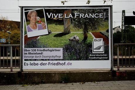 Vive la France: Es lebe der Friedhof