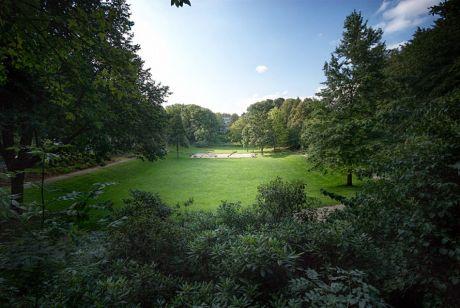 Solinger Parkanlage: noch als Grünanlage beschildert
